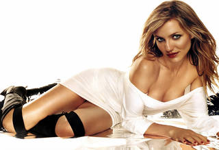 HD wallpaper chic e attraente Cameron Diaz